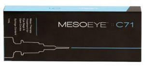 Биоревитализация вокруг глаз c Mesoeye C71
