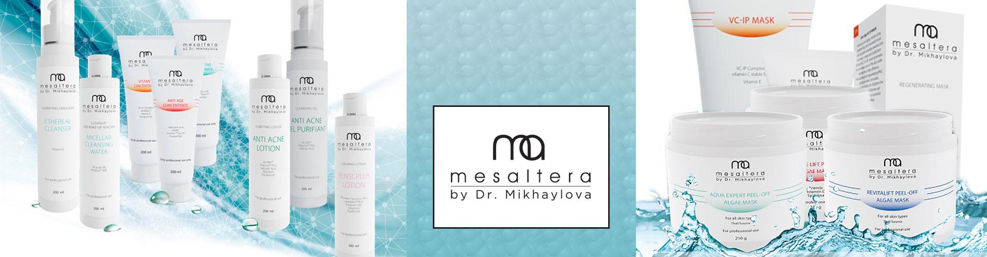 Mesaltera by Dr. Mikhaylova (Россия) - профессиональная косметика для домашнего ухода для лица