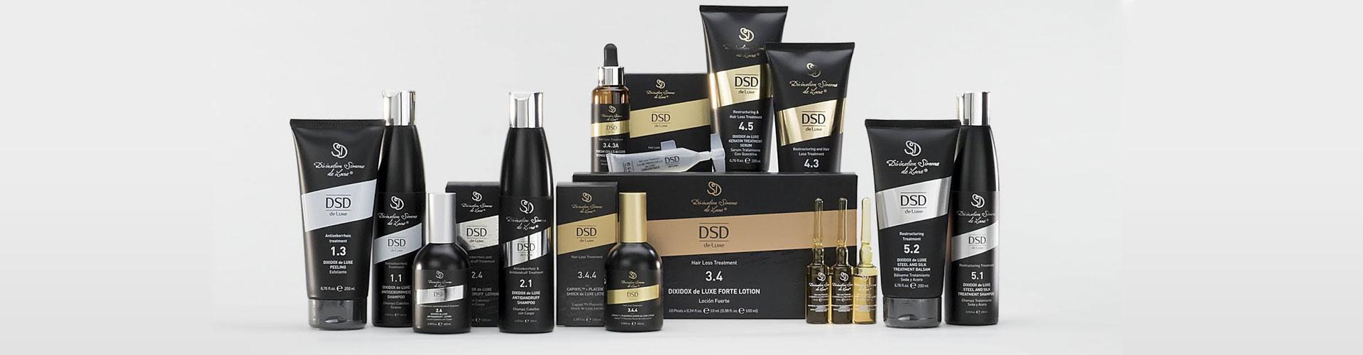 DSD de Luxe (Испания) - профессиональные средства против выпадения волос
