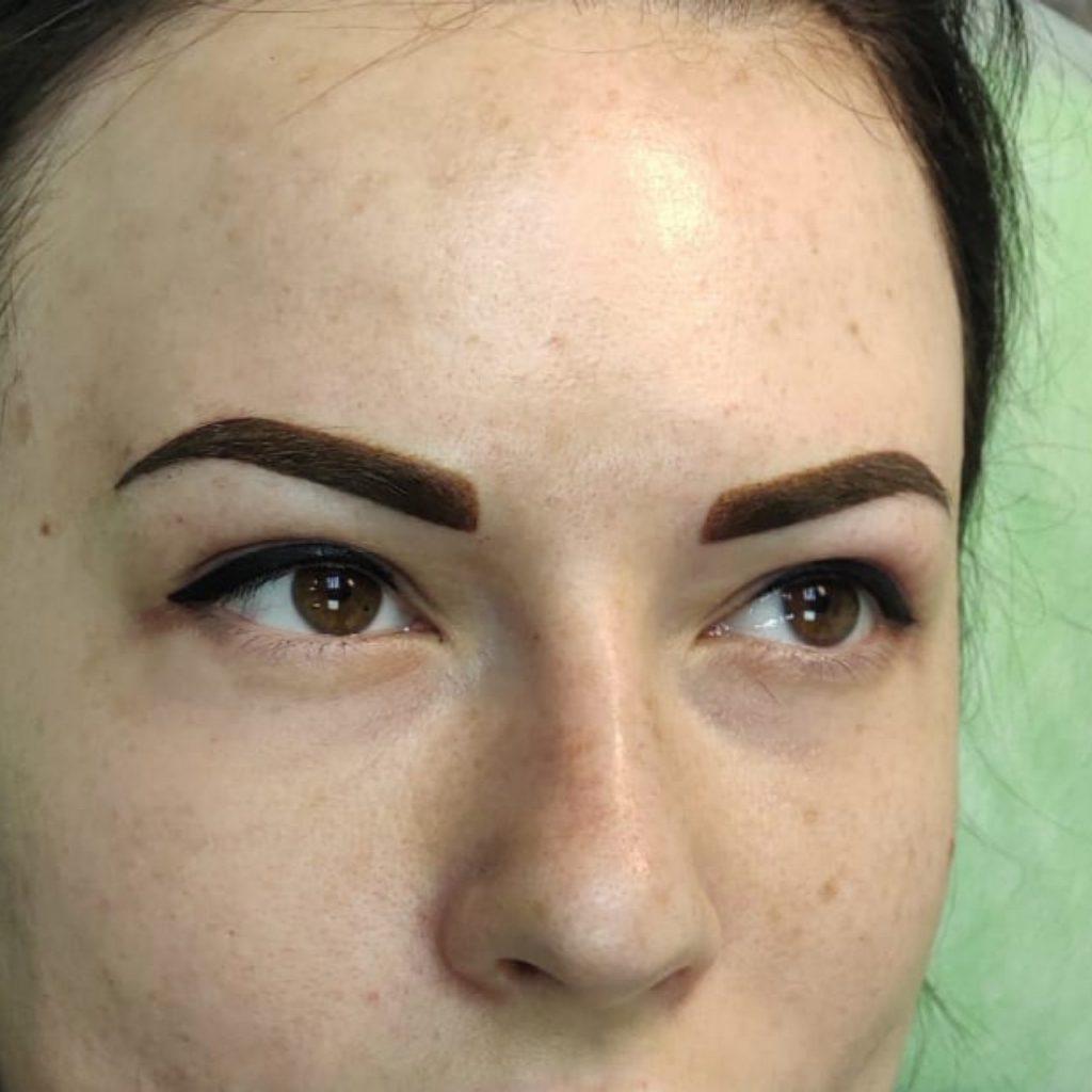 Фото пациентов мастера перманентного макияжа Комовой Т.В.