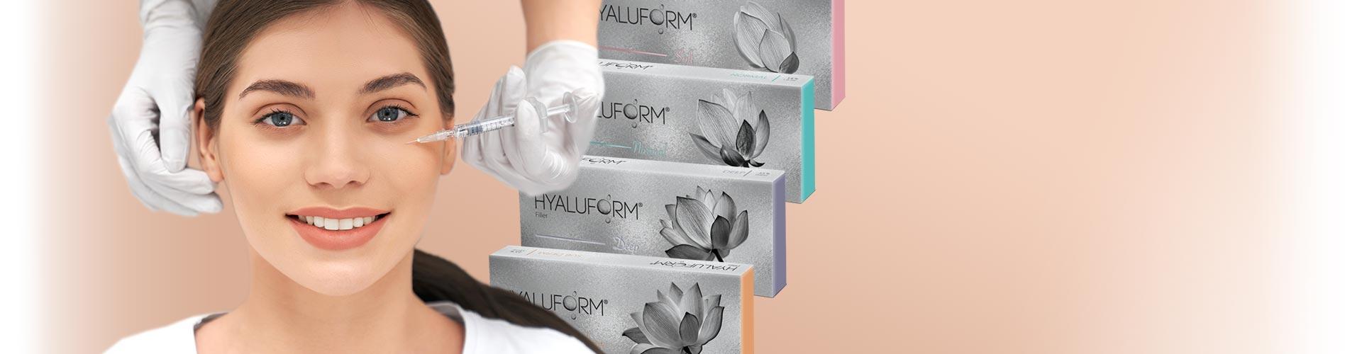 Скидка на филлеры Hyaluform