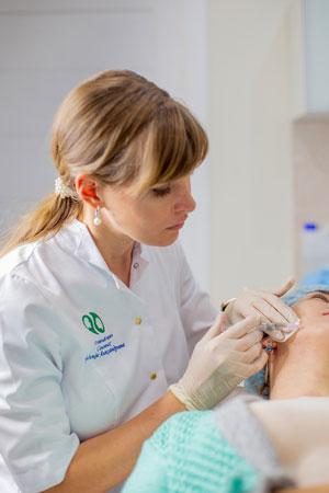 Биоревитализация / биорепарация лица в клинике косметологии Code Beauty Medicine