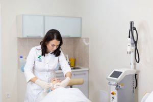 Микроигольчатый RF Infini в клинике косметологии Code Beauty Medicine